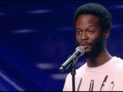 César Brandon recitando su poesía (Got Talent, Tele 5)